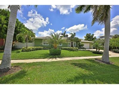 Marco Island Single Family Home For Sale: 861 Chestnut Ct #1