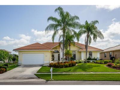 Marco Island Single Family Home For Sale: 315 Edgewater Ct #6