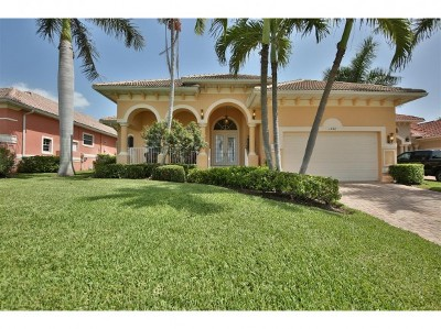 Marco Island Single Family Home For Sale: 1748 Ludlow Rd #2