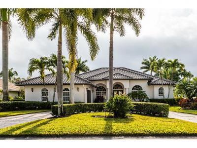 Naples Single Family Home For Sale: 8879 Lely Island Cir