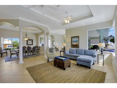 Marco Island Single Family Home For Sale: 551 Fieldstone Dr #7