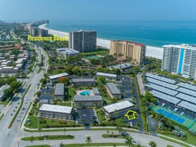 Marco Island Condo/Townhouse For Sale: 130 N Collier Blvd #9