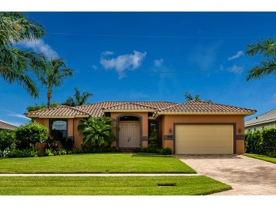 Marco Island Single Family Home For Sale: 491 Hartley St #6