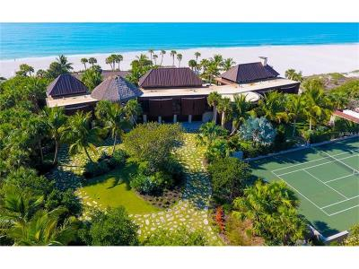 Longboat Key, Longboat Single Family Home For Sale: 6633 Gulf Of Mexico Drive