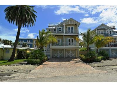 Bradenton Beach Single Family Home For Sale: 303 Church Avenue