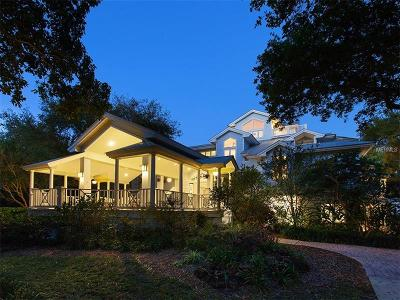 Single Family Home For Sale: 8521 Midnight Pass Road