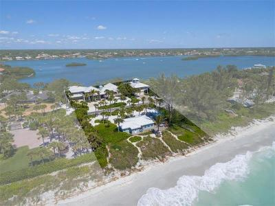 Nokomis Single Family Home For Sale: 3528 Casey Key Road