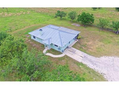 Sarasaota, Sarasota, Sarsota Single Family Home For Sale: 14901 & 14991 Murphy Road