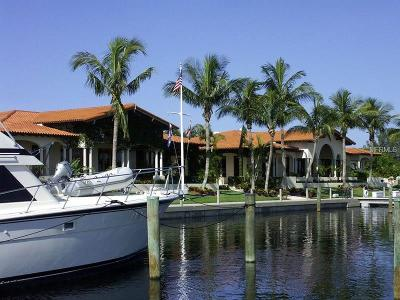 Longboat Key Single Family Home For Sale: 2600 Harbourside Drive #C-19