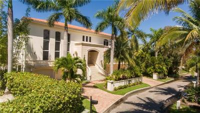 Sarasota FL Single Family Home For Sale: $5,900,000