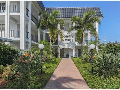 Sarasota Condo For Sale: 5600 Beach Way Drive #113