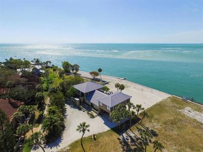 Siesta Key Single Family Home For Sale: 113 Big Pass Lane