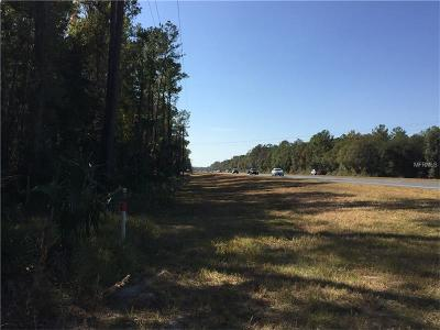 Levy County Residential Lots & Land For Sale: Sr 19