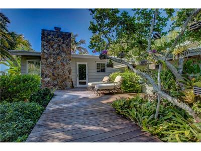 Nokomis, Osprey Single Family Home For Sale: 621 Casey Key Road