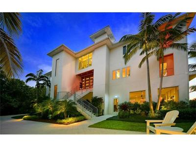Sarasota FL Single Family Home For Sale: $7,800,000