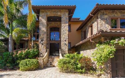 Sarasota FL Single Family Home For Sale: $4,890,000