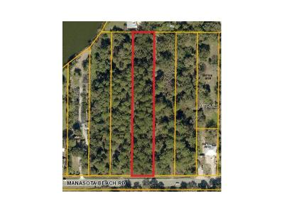 Venice Residential Lots & Land For Sale: Manasota Beach Road