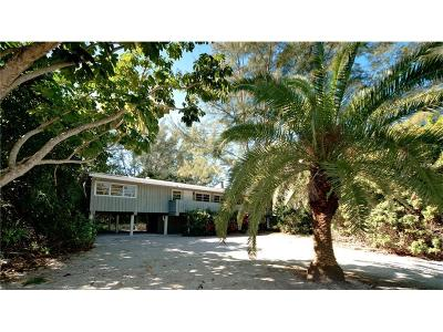 Longboat Key Single Family Home For Sale: 6037 Gulf Of Mexico Drive