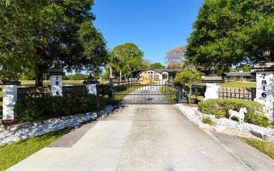 Sarasota Single Family Home For Sale: 7816 Saddle Creek Trail