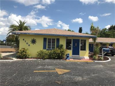 Sarasota Commercial For Sale: 4108 N Tamiami Trail