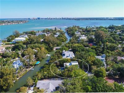 Siesta Key Single Family Home For Sale: 111 Faubel Street