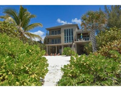 Sarasota Single Family Home For Sale: 16 Sandy Hook Road S
