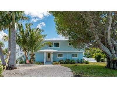 Anna Maria Single Family Home For Sale: 733 Holly Road