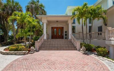 Single Family Home For Sale: 7840 Manasota Key Road