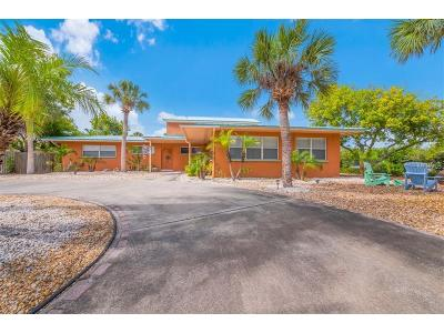 Holmes Beach Single Family Home For Sale: 8404 Marina Drive