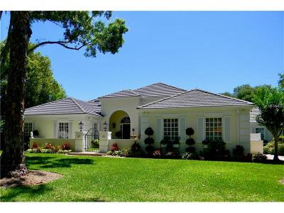 Osprey Single Family Home For Sale: 395 Sugar Mill Drive