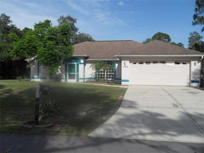 Englewood, North Port Single Family Home For Sale: 5024 Alibi Terrace