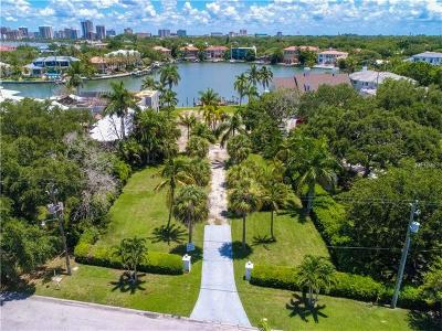Sarasota FL Residential Lots & Land For Sale: $2,695,000