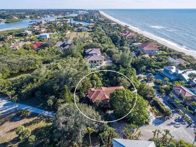 Nokomis, Osprey Single Family Home For Sale: 1140 Casey Key Road