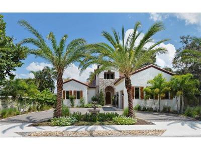 Sarasota Single Family Home For Sale: 1019 S Osprey Avenue