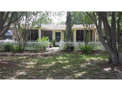 Chuluota Single Family Home For Sale: 2205 Snow Hill Road