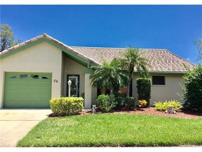Nokomis Single Family Home For Sale: 56 Inlets Boulevard #56