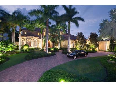 Sarasota FL Single Family Home For Sale: $9,975,000