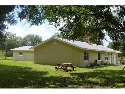 Myakka City Single Family Home For Sale: 27990 Crosby Road