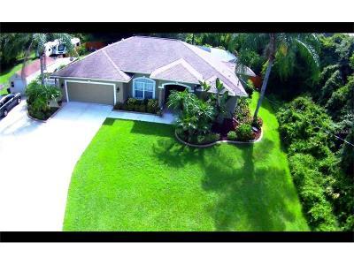 North Port Single Family Home For Sale: 4689 Michaler Street