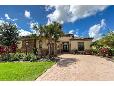 Bradenton Single Family Home For Sale: 13124 Palermo Drive