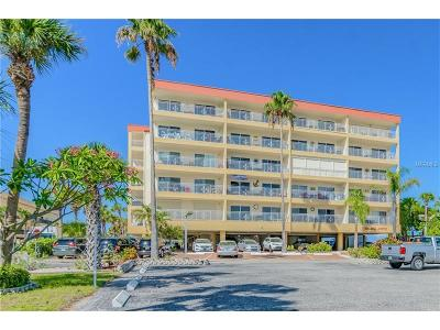 Madeira Beach Condo For Sale: 13000 Gulf Boulevard #116
