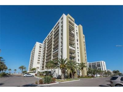 Clearwater Beach Condo For Sale: 1480 Gulf Boulevard #312