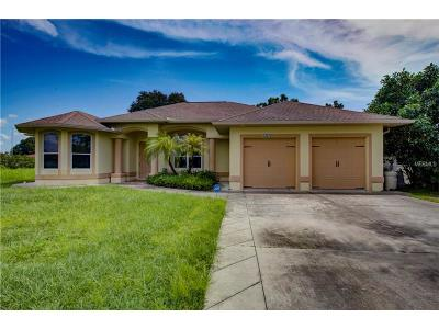 North Port Single Family Home For Sale: 12072 Ronda Lane