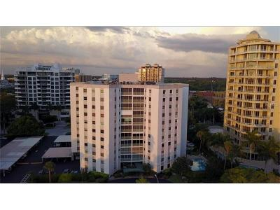 Sarasota Condo For Sale: 435 S Gulfstream Avenue #902