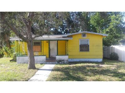 Gulfport FL Single Family Home For Sale: $99,999