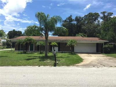 Clearwater Single Family Home For Sale: 1641 Gentry Street