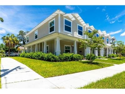 Hillsborough County Townhouse For Sale: 121 W Giddens Avenue