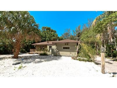 Longboat Key FL Single Family Home For Sale: $589,000
