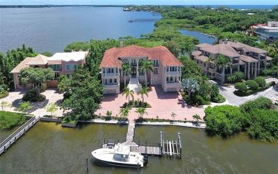 Sarasota FL Single Family Home For Sale: $5,999,999