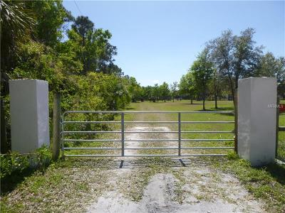 Osprey Residential Lots & Land For Sale: 500 Shotgun Lane